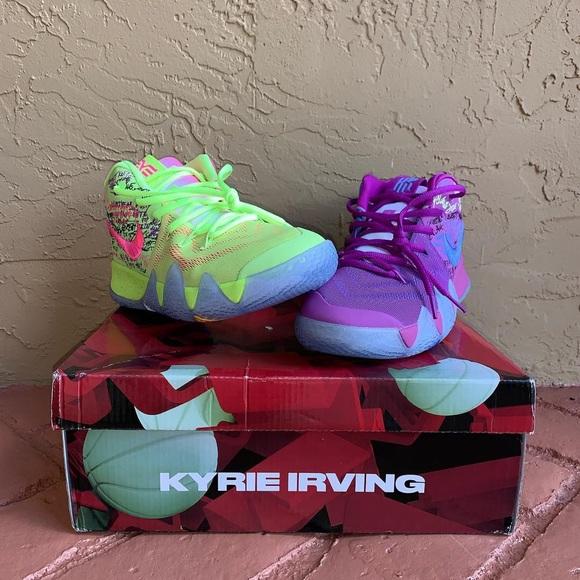 cheaper 2b3bf 40c17 Kyrie Irving 4 Confetti NWT